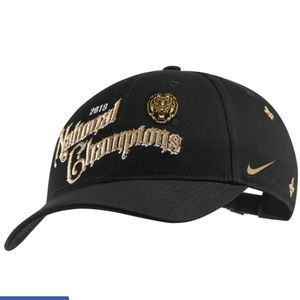 Nike LSU Tigers National Champions Locker Room Hat